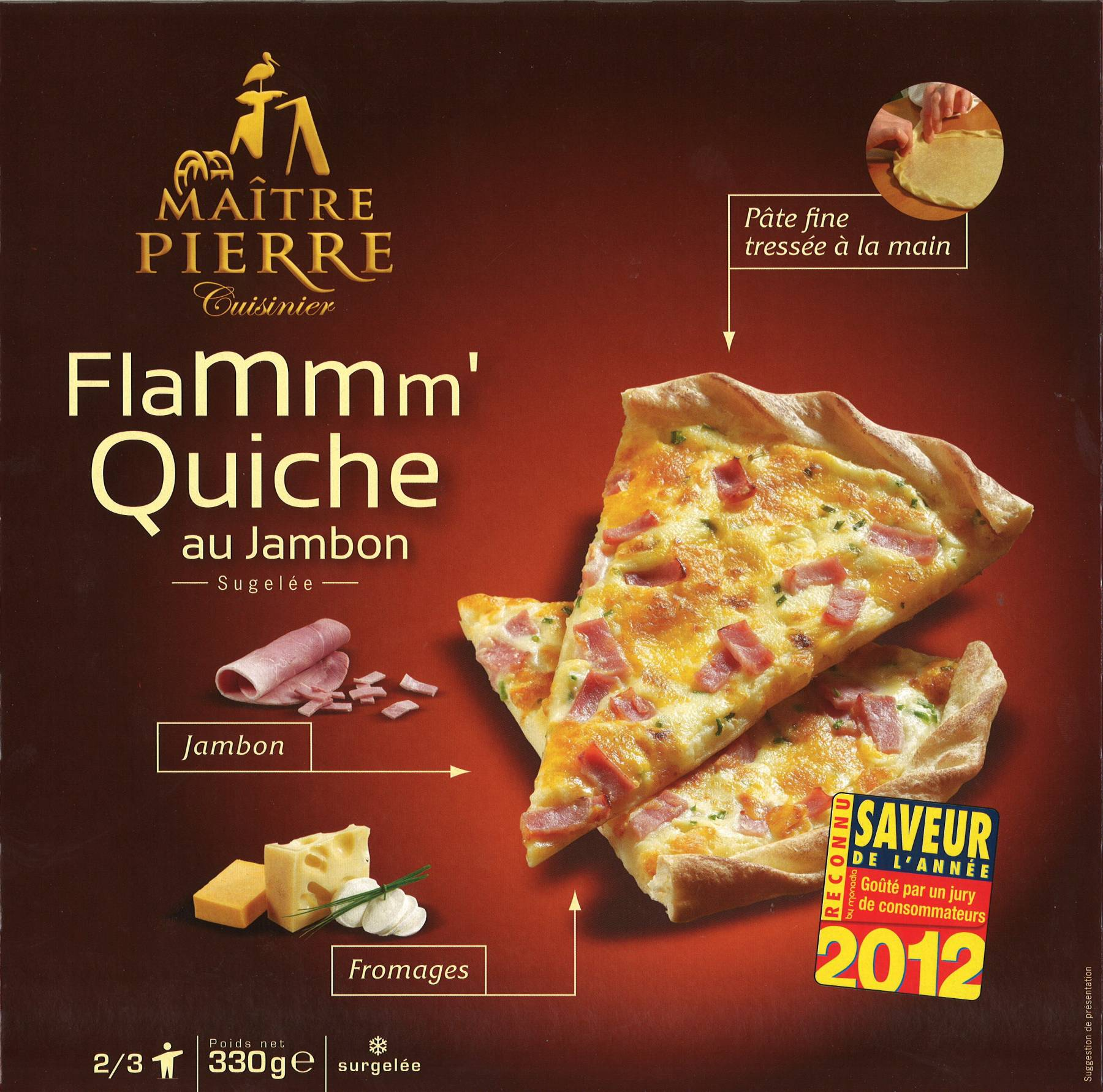flammm 39 quiche au jambon france ma tre pierre cuisinier. Black Bedroom Furniture Sets. Home Design Ideas